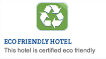 Eco Friendly Hotel Sign