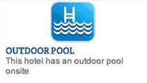 Outdoor Pool Sign